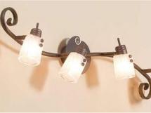 фотографии настенных светильников для кухни и прихожей