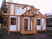 строительство дачных домов из бревна под ключ
