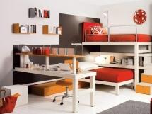 Детская комната для мальчиков, оформление и декор стен