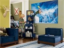 Детские комнаты для мальчиков, идеи планировки в фотографиях