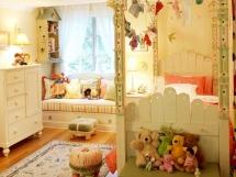 Дизайн интерьера детской спальни для девочки