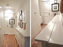оформление интерьера узкого коридора в квартире