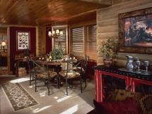 Интерьер гостиной и комнат коттеджа