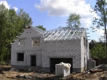 технология постройки домов из газобетона