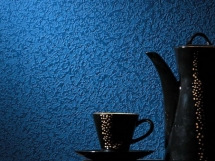 темно синяя текстурная краска для кухни