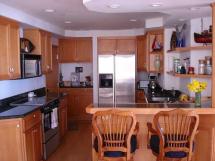 проект с перегородкой объеденной кухни с гостиной