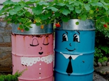 необычные идеи для сада