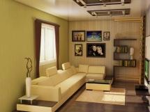интерьер зала в панельном доме фото