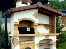 Как сделать кирпичный мангал на даче