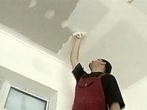 Самостоятельное выравнивание потолка гипсокартоном