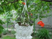 Макраме кашпо для цветов своими руками