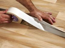 как правильно стелить линолеум на бетонный и деревянный пол