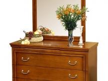 комод с зеркалом для гостиной и прихожей