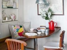 кухонная мебель для маленькой кухни фото