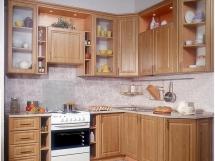 Фото мебели для маленькой кухни, мебель экономит пространство на кухне