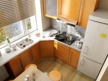 дизайн и цвет кухонного гарнитура