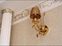Полиуретановая лепнина на потолке и стенах