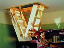 изготовление чердачной лестниц для дачи и дома