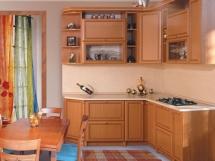 Дизайн интерьера малогабаритной кухни фотографии