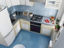 малогабаритные угловые кухни фото