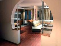 Дизайн межкомнатной арки из гипсокартона