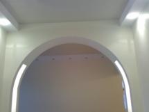 Подстветка межкомнатной арки