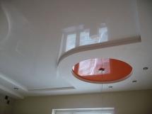 Монтаж многоуровневого натяжного потолка