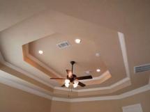 Дизайн многоуровневого потолка из гипсокартона