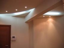 Форма многоуровневого потолка