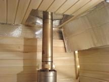 конструкция теплоизоляция и оптимальная высота дымохода