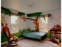 Цвет обоев в детской комнате мальчика и девочки фото