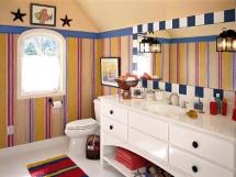 влагостойкие обои для ванной комнаты