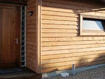 Отделка деревянного дома деревянным сайдингом