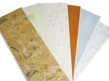 обшивка потолка потолочными панелями пвх