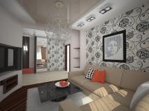 дизайн квартиры в панельном доме фото