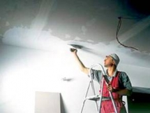 Как правильно белить потолок своими руками, техника побелки стен и потолка