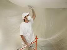 Как смыть, снять, убрать и очистить потолок от побелки