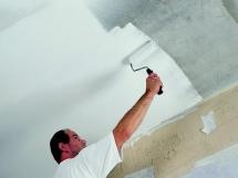 Подготовка потолка к окраске, инструменты для окраски потолка