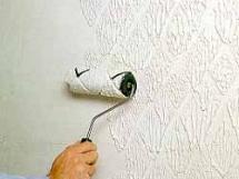 декоративная покраска стен, технология нанесения краски