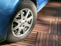 деревянный и бетонный пол в гараже, устройство пола