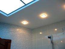 натяжной потолок и потолок из гипсокартона фото