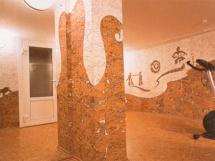 Пробковые обои для стен в интерьере квартиры