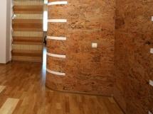 пробковые стеновые панели и листы