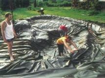 строительство искусственного водоема в саду