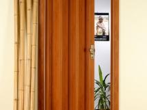 складные межкомнатные двери гармошка фото