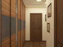ремонт узкого коридора в квартире фото