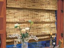 римские шторы на кухню фото