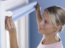 установка рулонных штор на пластиковые окна своими руками
