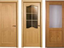 межкомнатные шпонированные двери фото