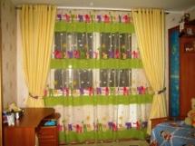 фото штор в детскую комнату мальчика